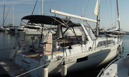 Image of Beneteau Oceanis 41.1 for sale in France for €225,000 (£204,815) GOLFE JUAN, , France