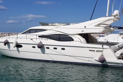 Ferretti 590 for sale in Italy for €350,000 (£318,602)