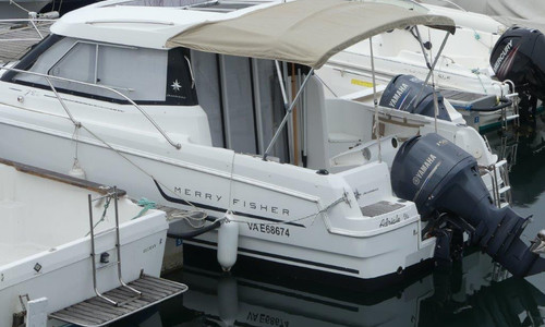 Image of Jeanneau Merry Fisher 755 for sale in France for €38,500 (£34,947) Arzon, , France