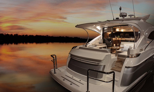 Image of Riviera 4800 Sport Yacht with IPS for sale in United States of America for P.O.A. (P.O.A.) , Florida, United States of America