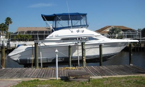 Image of Sea Ray 350 Express Bridge for sale in United States of America for $29,900 (£23,472) Port Charlotte, Florida, United States of America