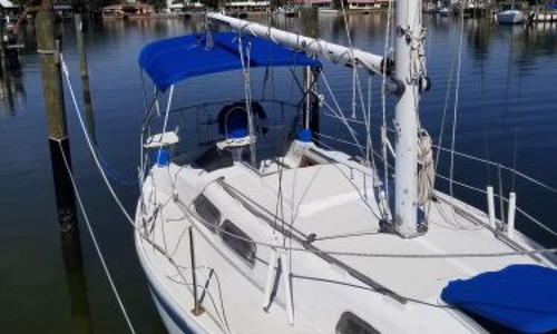 Image of Ericson 28 for sale in United States of America for $17,500 (£12,675) St Petersburg, Florida, United States of America