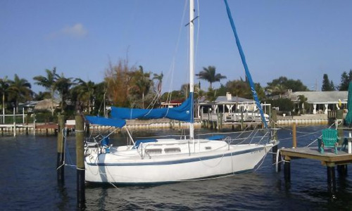 Image of Ericson 28 for sale in United States of America for $17,500 (£12,523) St Petersburg, Florida, United States of America