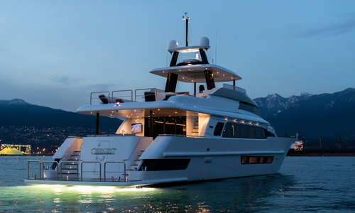 Image of Crescent Custom Fast Pilothouse Yacht for sale in Canada for $13,500,000 (£10,581,596) Vancouver, British Columbia, Canada