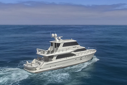 Hampton 76' Skylounge Motoryacht for sale in United States of America for $2,195,000 (£1,582,621)
