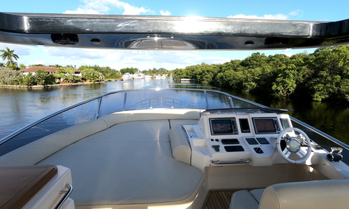 Image of Azimut Yachts 70 Flybridge for sale in United States of America for $1,349,000 (£975,874) Fort Lauderdale, Florida, United States of America