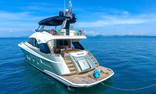 Image of MONTE CARLO YACHTS 70 for sale in Thailand for €1,495,000 (£1,299,785) Phuket,, Thailand