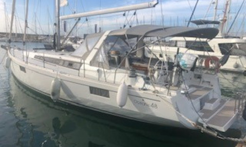 Image of Beneteau Oceanis 48 for sale in France for €298,000 (£272,231) LA GRANDE MOTTE, LA GRANDE MOTTE, , France