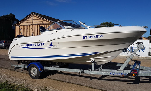 Image of Quicksilver 580 OPEN for sale in France for €13,000 (£11,834) DIENVILLE, , France