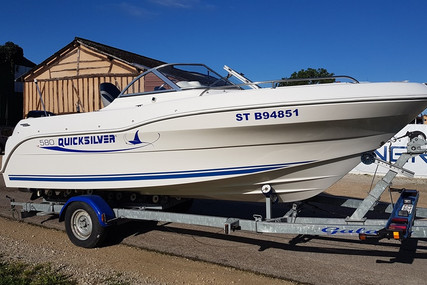 Quicksilver 580 OPEN for sale in France for €13,000 (£11,864)