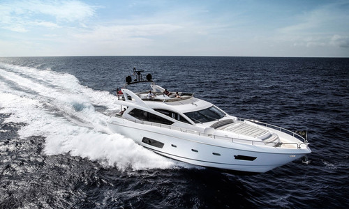 Image of Sunseeker Manhattan 73 for sale in Estonia for €1,900,000 (£1,741,601) Moscow, , Estonia
