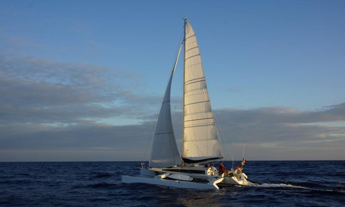 Image of Custombuilt ONE OFF TRIMARAN 37 for sale in  for €115,000 (£105,413) Lorient, ,