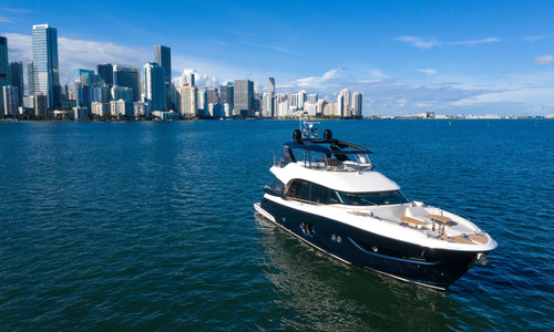 Image of MONTE CARLO YACHTS MCY 76 for sale in United States of America for P.O.A. (P.O.A.) Sarasota, Florida, United States of America