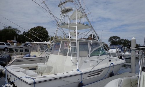 Image of Pursuit 3400 Express for sale in United States of America for $166,000 (£118,931) Falmouth, Massachusetts, United States of America