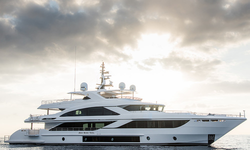 Image of Majesty 140 (New) for sale in United Arab Emirates for €16,025,000 (£14,159,738) Dubai & , United Arab Emirates