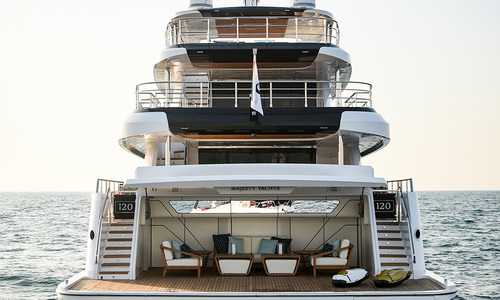 Image of Majesty Majesty 120 for sale in United Arab Emirates for €11,800,000 (£10,201,082) Dubai & , United Arab Emirates