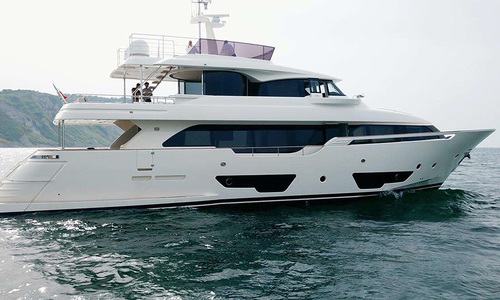 Image of Ferretti Custom Line 28 for sale in Italy for €5,200,000 (£4,519,970) Mediterranean , Italy