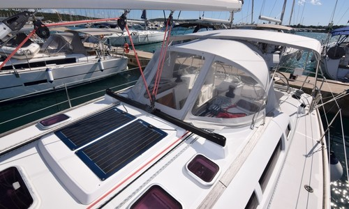 Image of Jeanneau Sun Odyssey 42i for sale in Croatia for €79,000 (£67,547) Dalmatia (, Croatia