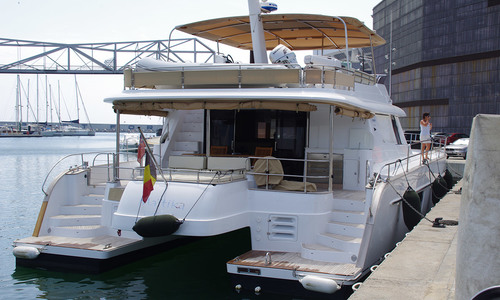 Image of Fountaine Pajot Queensland 55 for sale in Spain for €1,100,000 (£941,249) Balearics, Spain
