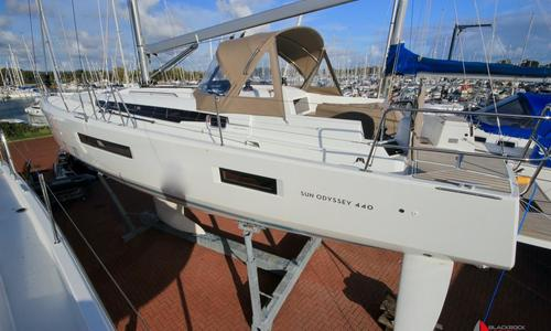 Image of Jeanneau Sun Odyssey 440 for sale in United Kingdom for £296,950 Chichester, United Kingdom