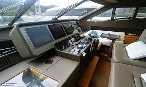 Image of Ferretti 731 for sale in Croatia for €1,090,000 (£946,682) Croatia