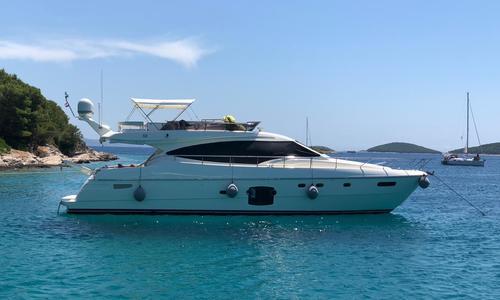 Image of Ferretti 592 for sale in Croatia for €599,000 (£515,677) Croatia