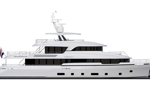 Image of Moonen 36 for sale in Netherlands for €17,950,000 (£15,989,524) North Sea Holland, Netherlands