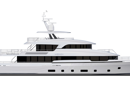 Moonen 36 for sale in Netherlands for €17,950,000 (£15,507,425)