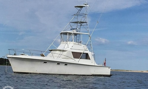 Image of Hatteras 41' Convertible for sale in United States of America for $19,000 (£13,642) East Hampton, New York, United States of America