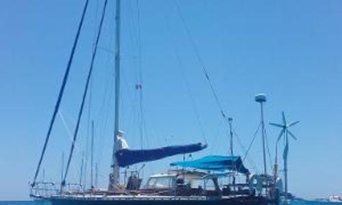 Image of Alan Mummery 41ft Steel Cutter for sale in United Kingdom for £65,000 Cowes, United Kingdom