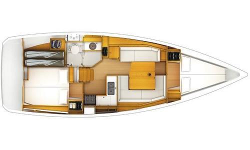 Image of Jeanneau Sun Odyssey 389 for sale in British Virgin Islands for $159,000 (£114,165) Road Town, British Virgin Islands
