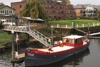 Barge 19.5m Converted Dutch Shrimper for sale in United Kingdom for £149,000
