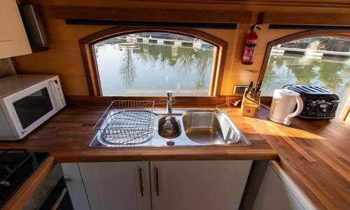 Image of Luxemotor Dutch Barge for sale in United Kingdom for £269,000 Chertsey, United Kingdom
