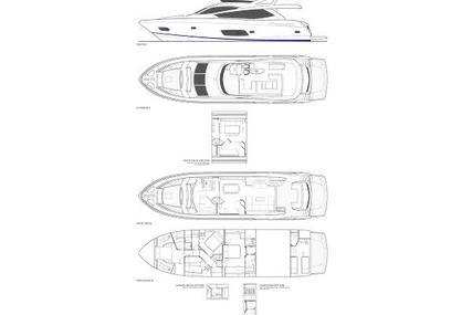 Sunseeker Manhattan 73 for sale in Spain for €1,245,000 (£1,136,997)
