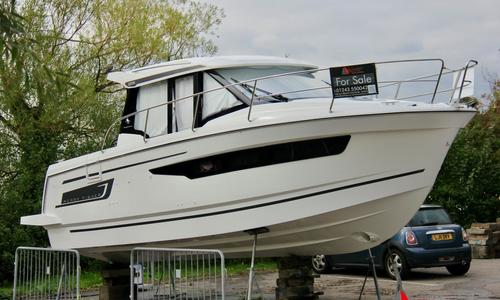 Image of Jeanneau Merry Fisher 895 for sale in United Kingdom for £131,383 Chichester, United Kingdom