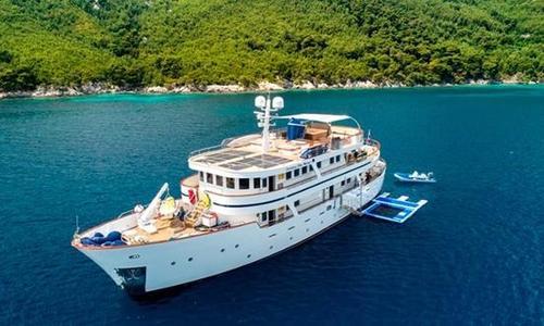 Image of Aegean Yachts 112' Full Displacement Motor Yacht for sale in Croatia for €3,990,000 (£3,459,068) Dubrovnik, Croatia