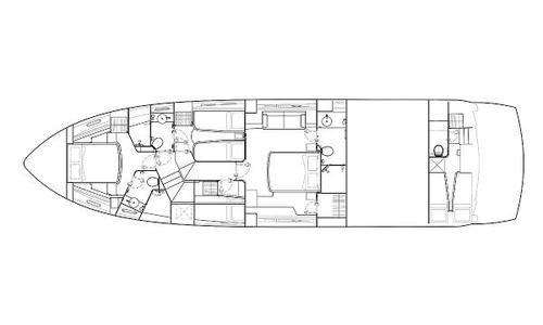 Image of Sunseeker Manhattan 63 for sale in Spain for €1,200,000 (£1,032,382) Sant Feliu de Guíxols, Spain