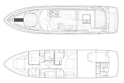 Sunseeker 68 Sport Yacht for sale in Spain for £1,249,000 ($1,766,161)