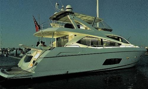 Image of Sunseeker Manhattan 73 for sale in Australia for £1,634,995 Perth, WA, Australia