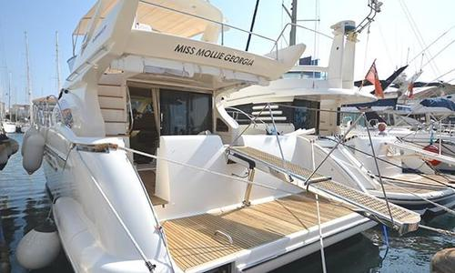 Image of Azimut Yachts 50 for sale in Spain for €325,000 (£282,268) Gibraltar, Spain