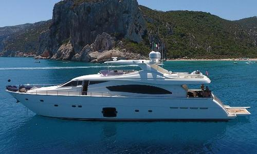 Image of Ferretti 881 for sale in Italy for €1,900,000 (£1,649,721) Sardinia, Italy
