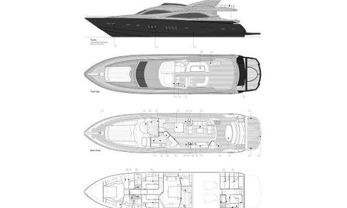 Image of Sunseeker 90 for sale in Italy for €1,950,000 (£1,780,838) Naples, Italy