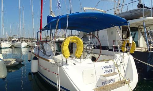 Image of Jeanneau Sun Odyssey 33i for sale in Greece for €39,500 (£34,291) Gouvia, Greece