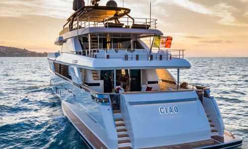 Image of Ferretti Custom Line 42 for sale in Italy for €15,900,000 (£14,123,416) Mediterranean , Italy