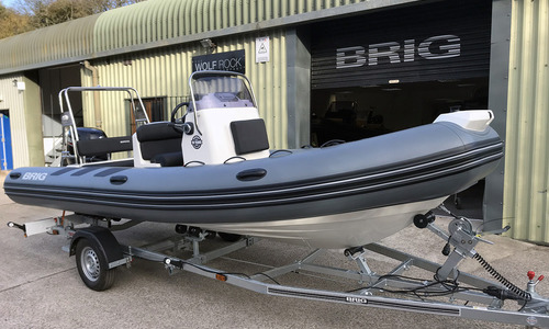 Image of Brig Navigator 570H - NEW 2021 - ORCA Hypalon for sale in United Kingdom for £32,995 South West, United Kingdom