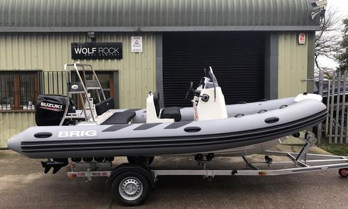 Image of Brig Navigator 520H - NEW 2021 - ORCA Hypalon for sale in United Kingdom for £29,995 South West, Kingsbridge, United Kingdom