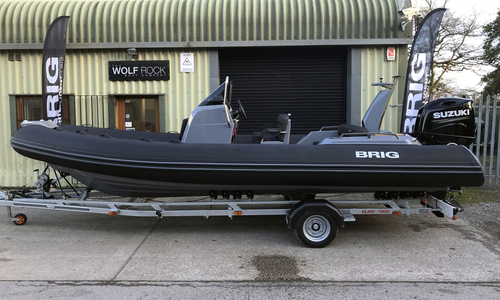 Image of Brig Eagle 6.7 - NEW 2021 - ORCA Hypalon Fabric Impression Tubes for sale in United Kingdom for £49,995 South West, United Kingdom