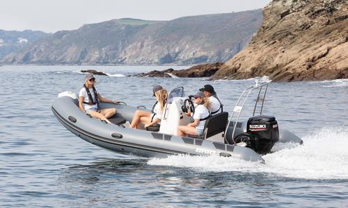 Image of Brig Falcon Rider 500L - NEW 2021 - ORCA Hypalon for sale in United Kingdom for £18,495 South West, Kingsbridge, United Kingdom