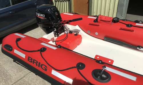 Image of Brig Falcon 450HS Safety Series - NEW - ORCA Hypalon for sale in United Kingdom for £9,995 South West, United Kingdom