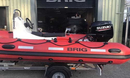 Image of Brig Falcon 450HS Safety Series - NEW 2021 - ORCA Hypalon for sale in United Kingdom for £13,695 South West, United Kingdom